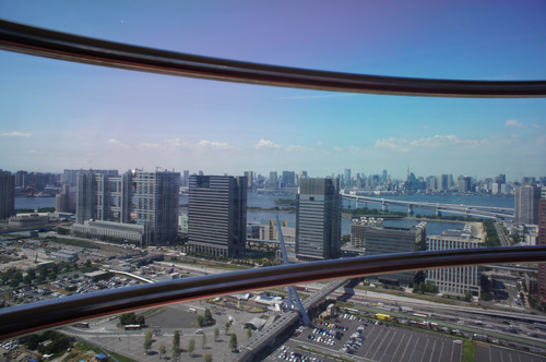 観覧車からの風景