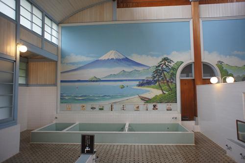 富士山ペンキ絵