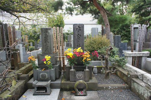 太宰治のお墓