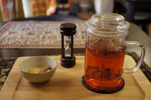 ドライフルーツ茶