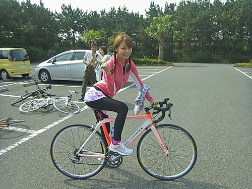 自転車の 自転車 ダイエット おすすめ : ... 中!?ダイエットに効果絶大♪