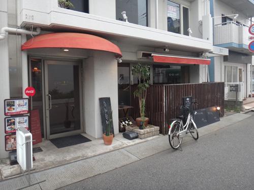 モッシュ 引き取ったら自走して帰るので、その前に腹ごしらえ。 西千葉のカフェ・モ... チャリカ