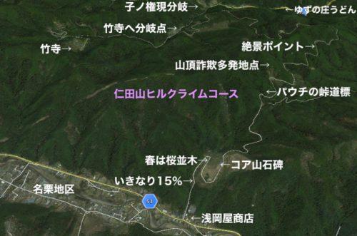 仁田山立体ルート