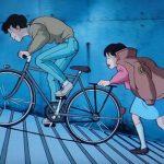 ジブリアニメ「耳をすませば」の自転車